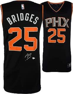 Mikal Bridges Phoenix Suns Autographed Fanatics Black Fastbreak Jersey - Fanatics Authentic Certified