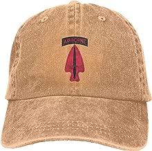 Men&Women US Army Retro 1st Special Forces Ent Delta SSI Cotton Hat Cowboy Hat Baseball Caps