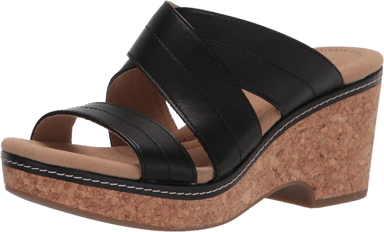 Clarks Women's Giselle Tide Wedge Sandal