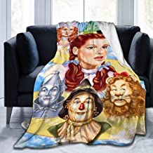 Aebipo Wi-zard of O-z Ultra-Soft Micro Fleece Blanket Super Soft Plush Fuzzy Bed Throw Microfiber Holiday Winter Cabin War...