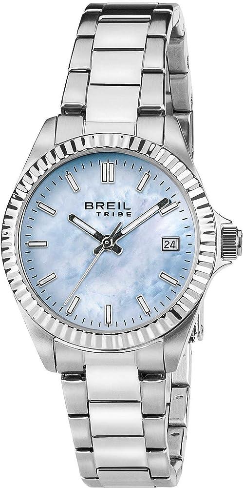 breil orologio donna classic elegance quadrante madreperla blu ew0238