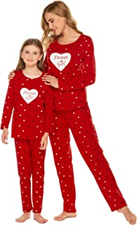 mom and daughter matching sleepwear