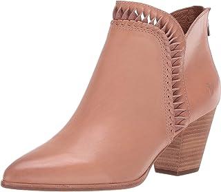 Frye Women's Reed Feather Inside Zip Bootie Ankle Boot