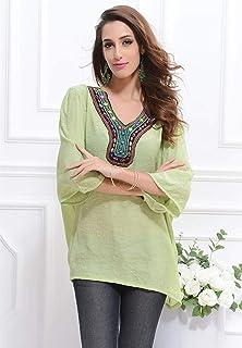 Multi Color Sweetheart Neck Blouse For Women