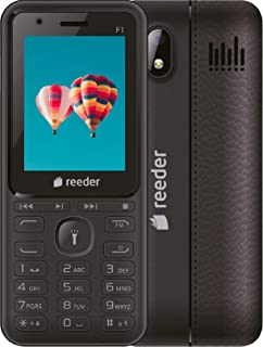 REEDER F1 Cep Telefonu Siyah  (Reeder Türkiye Garantili)