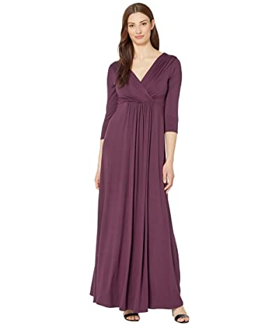 Tiffany Rose Willow Maternity Gown (Claret) Women