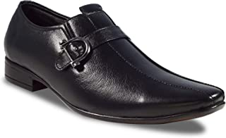 RIGAU Men's Leather Formal/Casual/SEMI Formal Shoes Black