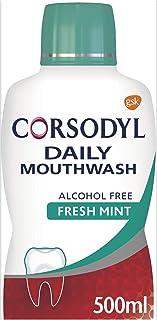Corsodyl Gum Care Mouthwash Alcohol Free Daily Fresh Mint 500 ml