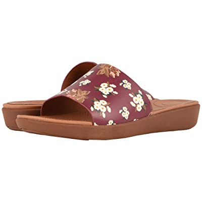 FitFlop Sola Slides (Berry Mix) Women