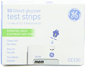GE100 Test Strips 50 Count Box - Part#99GS250G51