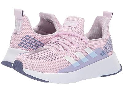 adidas Kids Asweego Run (Little Kid/Big Kid) (Aero Pink/Footwear White/True Blue) Kid