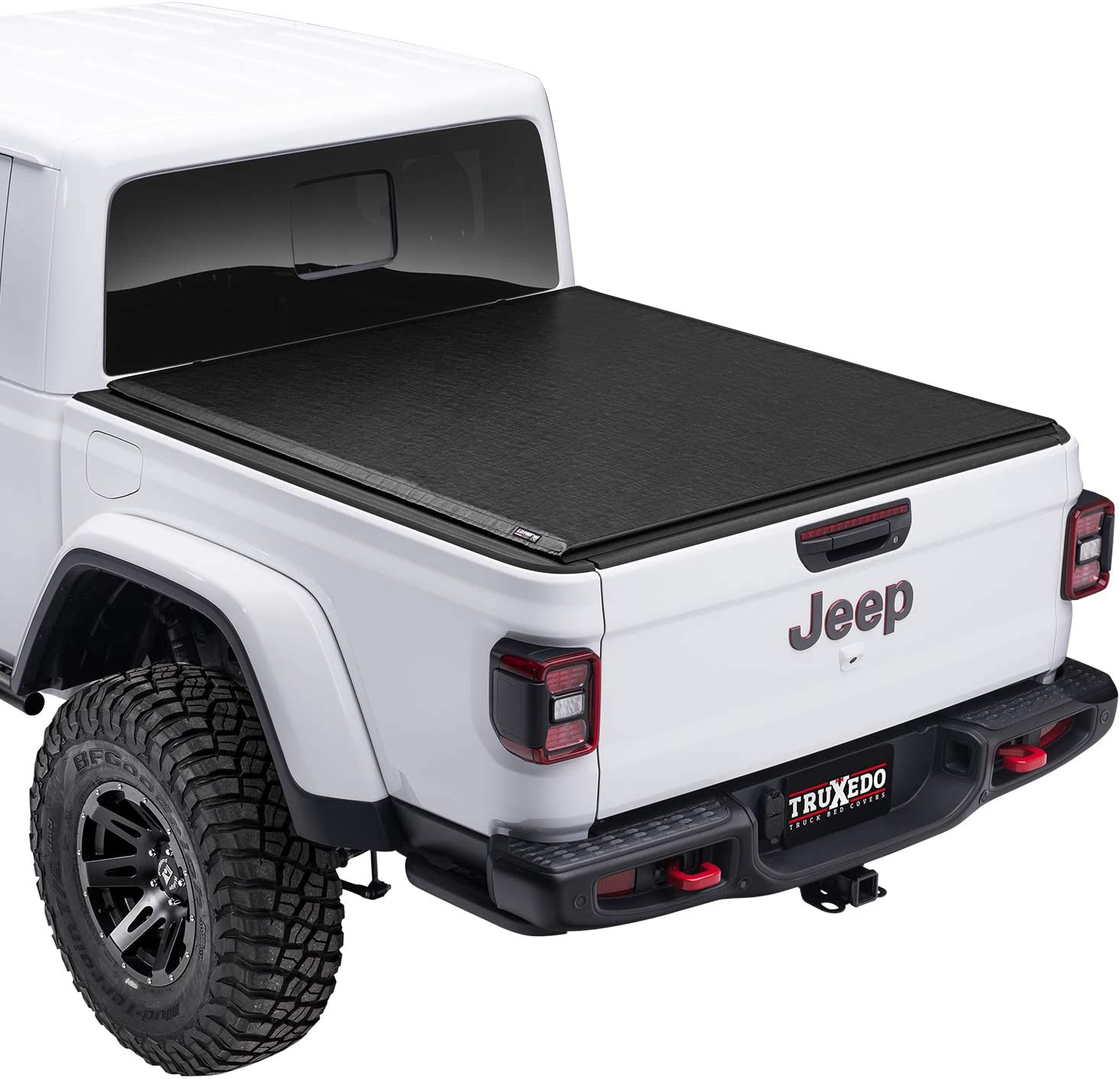 TruXedo Lo Pro Soft Roll Up Truck Bed Tonneau Cover | 523201 | Fits 2020 - 2021 Jeep Gladiator, w/ Trail Rail System 5' Bed (60