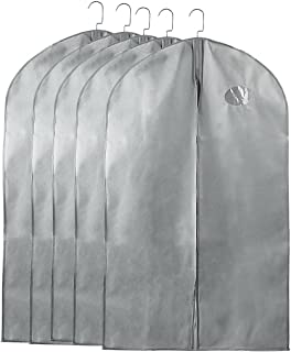 db57cb2a813a Amazon.com  Grey - Garment Covers   Clothing   Closet Storage  Home ...