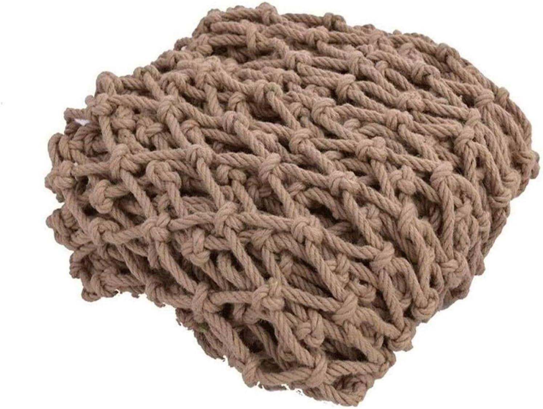 Climbing Cargo Net Heavy Duty Treehouse Hemp Sacramento Mall Protecti Decor Popular popular Rope