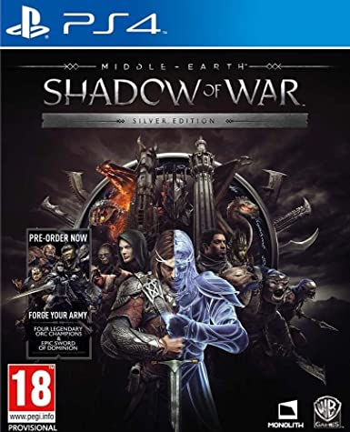 Middle Earth Shadow of War Silver Edition PS4 Game - Amazon.co.uk
