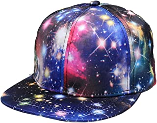 JPOJPO Baseball Cap Galaxy 3D Printed Adjustable Unisex Hip Hop Snapback Hats