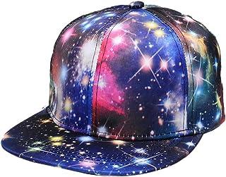 JPOJPO Baseball Cap Galaxy 3D Printed Adjustable Unisex Hip Hop Snapback Hats