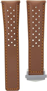 22MM LEATHER WATCH STRAP FOR TAG HEUER MONACO CALIBRE 12 CAW2111 WATCH TAN OS