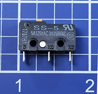 Omron Electronic Components SS-5 Micro Switch, Pin Plunger, SPDT, 5A 250V