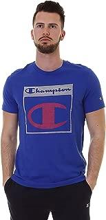 Champion 212746 BS008BAI Men's Crew Neck T-Shirt, Large, Blue