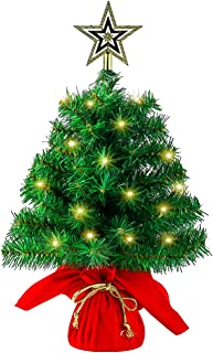 Best miniature christmas tree with lights Reviews