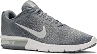 Nike Men's Air Max Sequent 2 Running Shoe (10 D(M) US, Cool Grey/Metallic Silver)