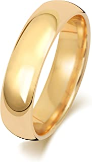 Anello Fede Nuziale Uomo/Donna 5mm in Oro giallo 18k (750) WJS1888018KY