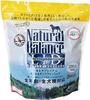 ナチュラルバランス ポテト&ダック 小粒 アレルギー専用 (全犬種/全年齢対応) 1.82kg