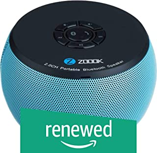(Renewed) Zoook Bluetooth Speaker ZB-BS100 Aqua