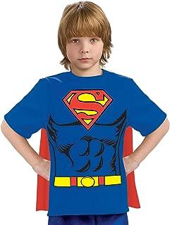 Justice League Child's Superman 100% Cotton T-Shirt - Medium
