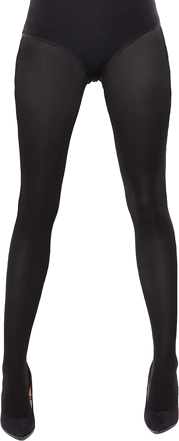 Aurellie Opaque Microfiber Footed Tights Pantyhose Multipacks