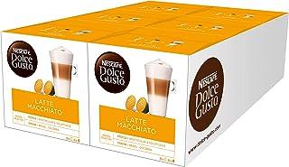 Nescafe Dolce Gusto Latte Macchiato (Pack of 6)-96Capsules)