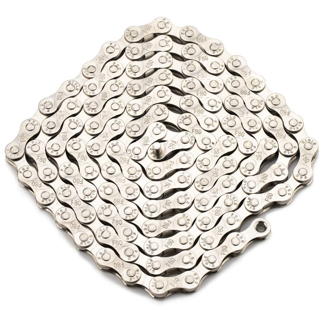 "ZHIQIU FSC 6 7 8 Speeds 116L MTB Bikes Bicycles Chains Silver Gold 1//2/"" x 3//32/"""