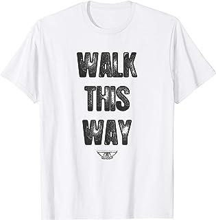 Aerosmith - Walk This Way Lyric T-Shirt