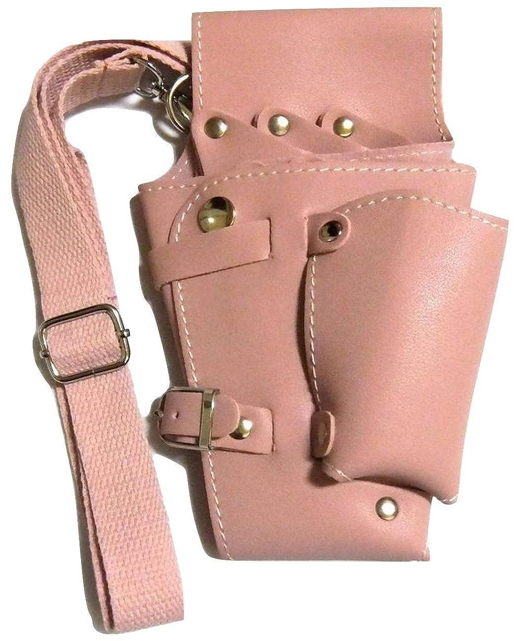征服する上に対立グッドライフEXPRESS シザーケース バック 5丁 ピンク 美容師プロ専用 トリマー GL442 GLEブランドパッケージ品