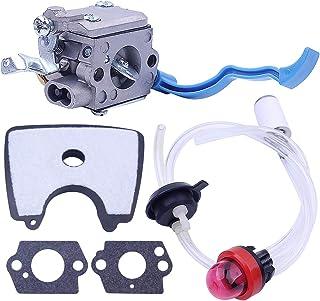 545081811 545112101 Carburador con Linea filtro aria carburante Kit para Husqvarna 125B 125BX 125BVX Piezas de soplador de...