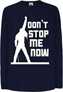 lepni.me Kids T-Shirt Don't Stop me Now! - Vintage Rock Band Clothing,