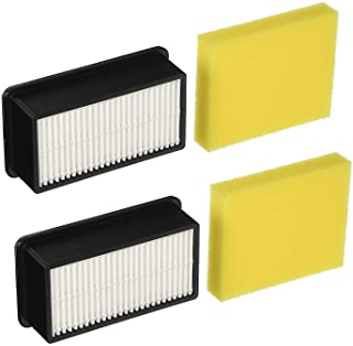 Best Lemige 2 + 2 Pack Filters for Bissell 1008 CleanView Vacuums Replacement Filters Kit,Compare to Part # 2032663 & 1601502 Review