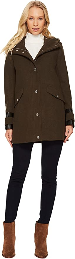 "Ally 30"" Wool Plush Coat"