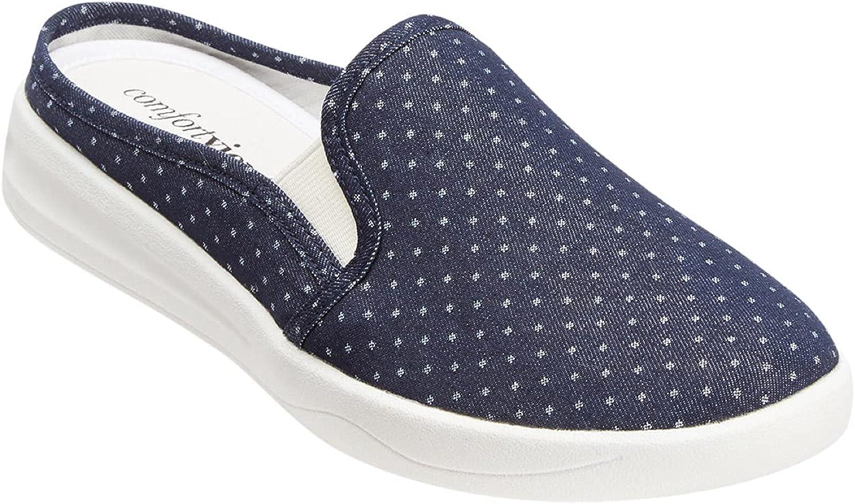 Comfortview Women's Wide Width 買い物 The 激安通販ショッピング Sneaker Camellia