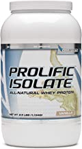 STI G6 Sports Prolific Isolate Whey Protein - Vanilla 2.5 lbs.