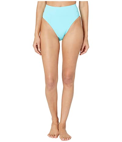 BECCA by Rebecca Virtue Color Code Tanya French Cut High Leg Bottoms (Sea) Women