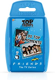 Friends Top Trumps Playing Card Game