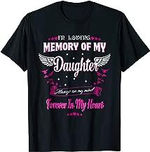 In loving memory of my Daughter-my Daughter in heaven shirt
