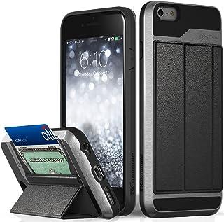 VENA iPhone 6S Plus Wallet Case, vCommuteDrop Protection Fli
