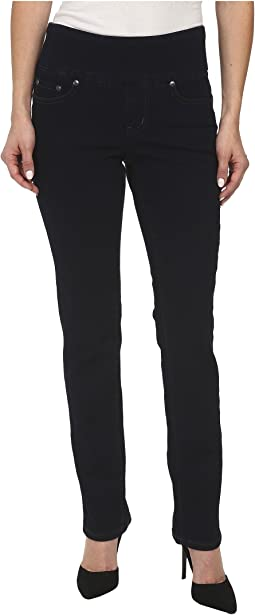 Jag Jeans Petite - Petite Peri Pull-On Straight in After Midnight