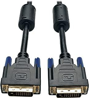 Tripp Lite DVI Dual Link Cable, Digital TMDS Monitor Cable (DVI-D M/M) 10-ft.(P560-010)