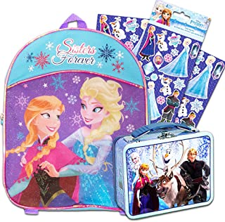 Nickelodeon Marvel 10 inch Mini Backpack (Frozen with Snack Tin)