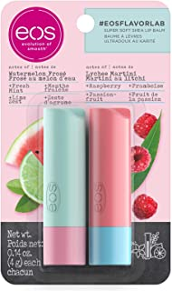 eos Twin Stick Watermelon Frozen & Lychee Martini Lip Balm Twin Pack