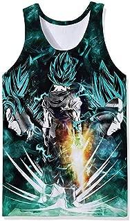 Men Dragon Ball 3D Print Tank Top Sleeveless Active T-Shirt